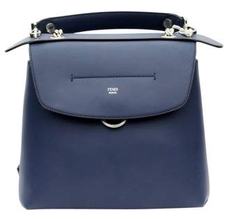 fbacdcd93a Fendi Back to school Navy Leather Backpacks