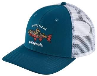 Patagonia World Trout Brook Fishstitch Trucker Hat