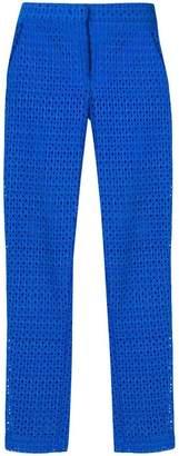 Pinko fishnet style trousers
