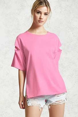 FOREVER 21+ Contemporary Cutout Tee $10.90 thestylecure.com