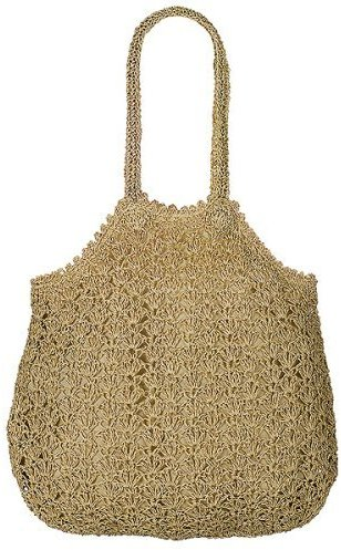 Xhilaration® Crocheted Tote - Tan