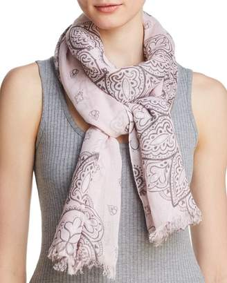 Fraas Ornamental Medallion Print Oblong Scarf