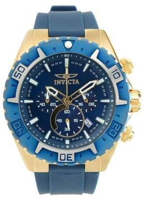 Invicta 22525 Men's Aviator Chronograph Blue Dial Blue Bezel Watch