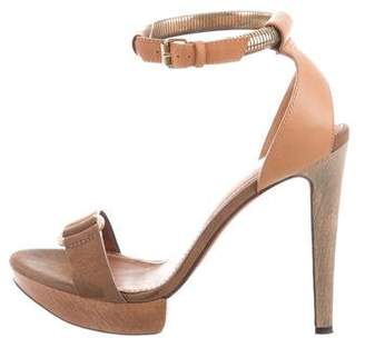 Lanvin Chain-Link Platform Sandals