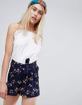 Brave Soul Ada Shorts in Floral Print