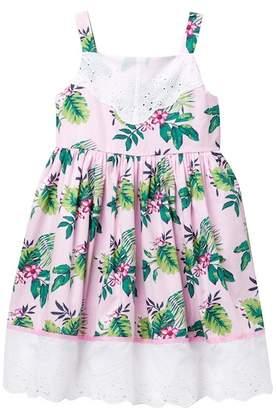 Pippa & Julie Tropical Summer Dress (Little Girls)
