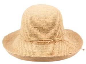 Cloche Epoch Hats Company Angela & William Raffia Roll Up Brim Sun Hat