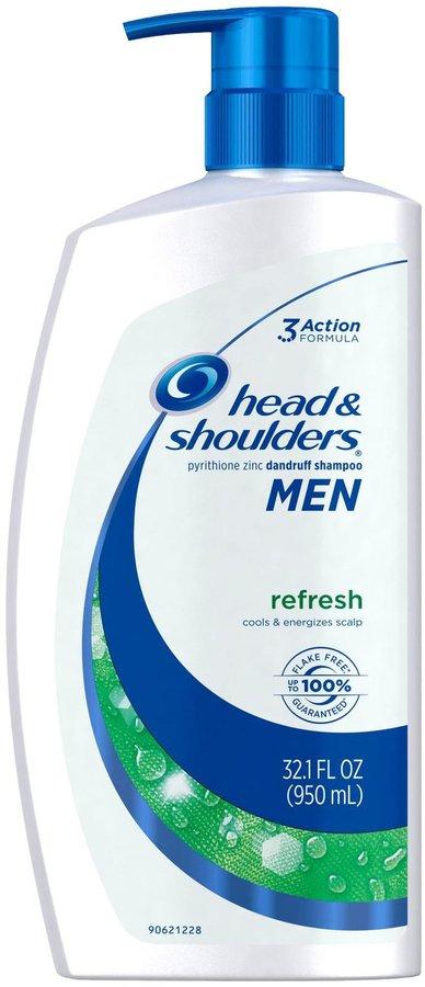 Head & Shoulders men refresh anti-dandruff shampoo for men