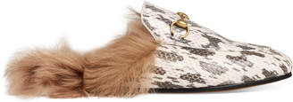 Princetown snake slipper $995 thestylecure.com