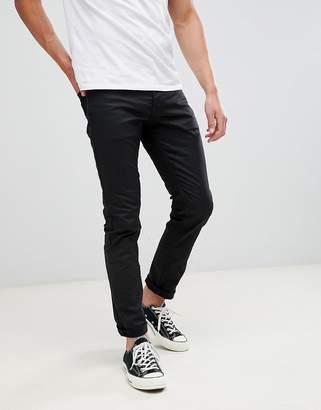Jack and Jones Slim Fit Black Denim Jeans