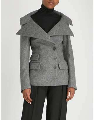 Antonio Berardi Neffa virgin wool and cashmere-blend jacket