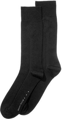 Perry Ellis Men's Textured Dress Socks