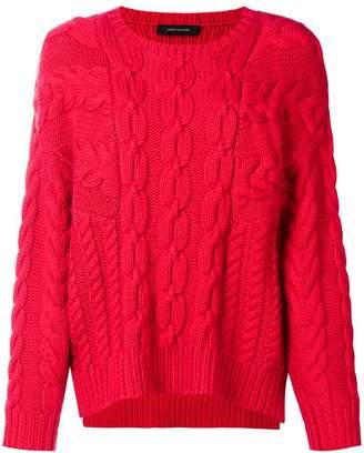 Cédric Charlier chunky knit jumper