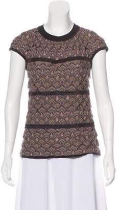 Missoni Open Knit Short Sleeve Top