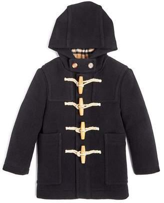 Burberry Boys' Burford Wool Duffel Coat - Little Kid, Big Kid