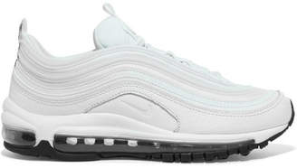 Nike Air Max 97 Leather And Mesh Sneakers - White