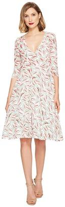 Unique Vintage - Kelsie Wrap Dress Women's Dress $68 thestylecure.com