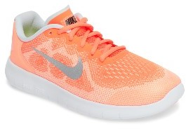 Girl's Nike Free Run 2 Athletic Shoe