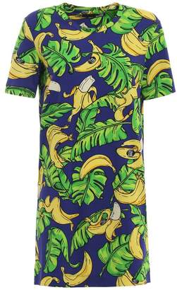 Love Moschino Banana Print Dress
