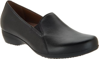 Dansko Leather Slip-On Loafers - Farah