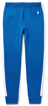 Todd Snyder + Champion Slim-Fit Tapered Striped Loopback Cotton-Jersey Sweatpants