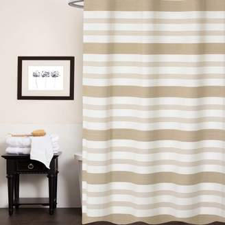 At Walmart Popular Bath Products Nowell 100 Cotton Fabric Striped Shower Curtain 70