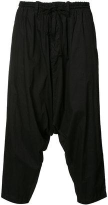 Yohji Yamamoto Sarouel Panel Pants $700 thestylecure.com