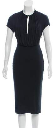 Alexander McQueen Midi Bodycon Dress