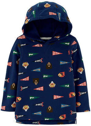 Carter's Hooded Pullover - Toddler Boys Hoodie-Toddler Boys