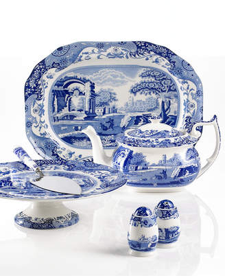Spode Serveware, Blue Italian Collection