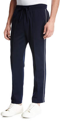 Vince Drawstring Track Pants, Navy