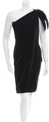 Kaufman Franco Kaufmanfranco One-Shoulder Wool Dress w/ Tags