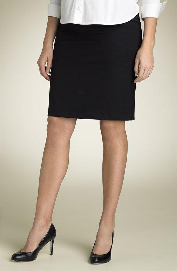Liz Lange Maternity Stretch Wool Pencil Skirt