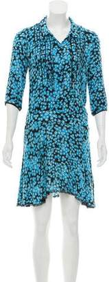 Zadig & Voltaire Floral Print Mini Dress