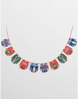 aerie Talking Tables Christmas Sweater Garland