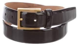 Michael Kors Patent Leather Belt
