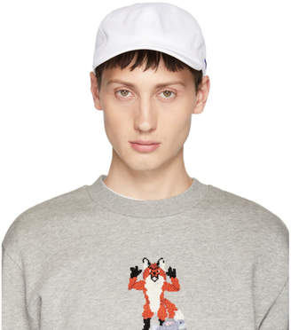 MAISON KITSUNÉ White Fox Six-Panel Cap