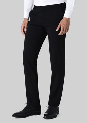 Giorgio Armani Classic Wool Trousers