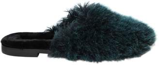 10mm Aspen Faux Fur Mules