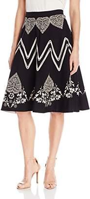 Plenty by Tracy Reese Women's Bandana Placement Skirt