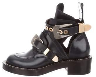 Balenciaga Ceinture Ankle Boots Navy Ceinture Ankle Boots