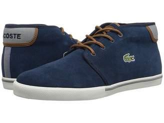 64aec574556e18 Lacoste Blue Suede Men s Shoes