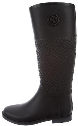 Tory BurchTory Burch Logo-Embellished Rain Boots
