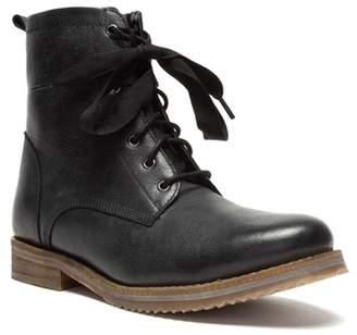 Crevo Freya Leather Lace-Up Boot