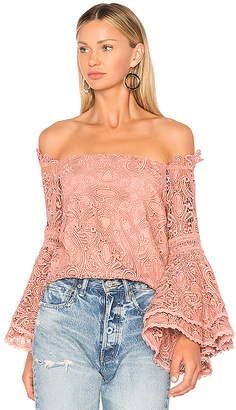 Alexis Thea Top in Blush $396 thestylecure.com