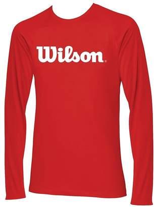 Wilson Men's Long Sleeve /Red