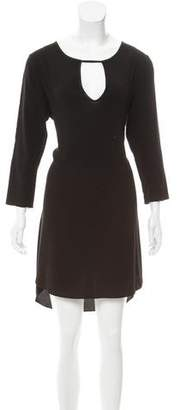 Ramy Brook Long Sleeve Knee-Length Dress