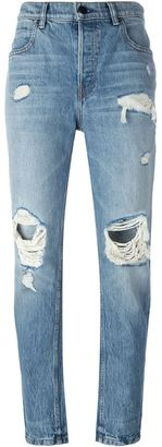 Alexander Wang distressed jeans $320 thestylecure.com