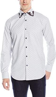 Bogosse Men's Byron 81 Long Sleeve Button Down Shirt