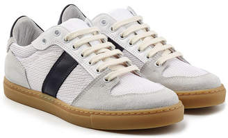 Ami Sneakers with Leather and Suede